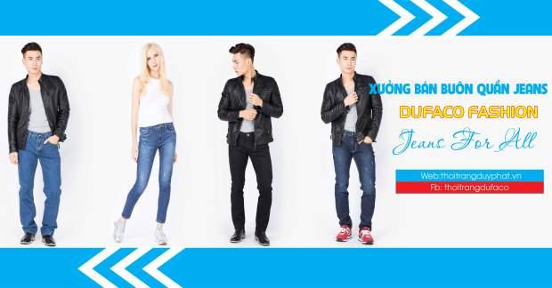 Địa chỉ phân phối quần Jean giá sỉ hàng VNXK